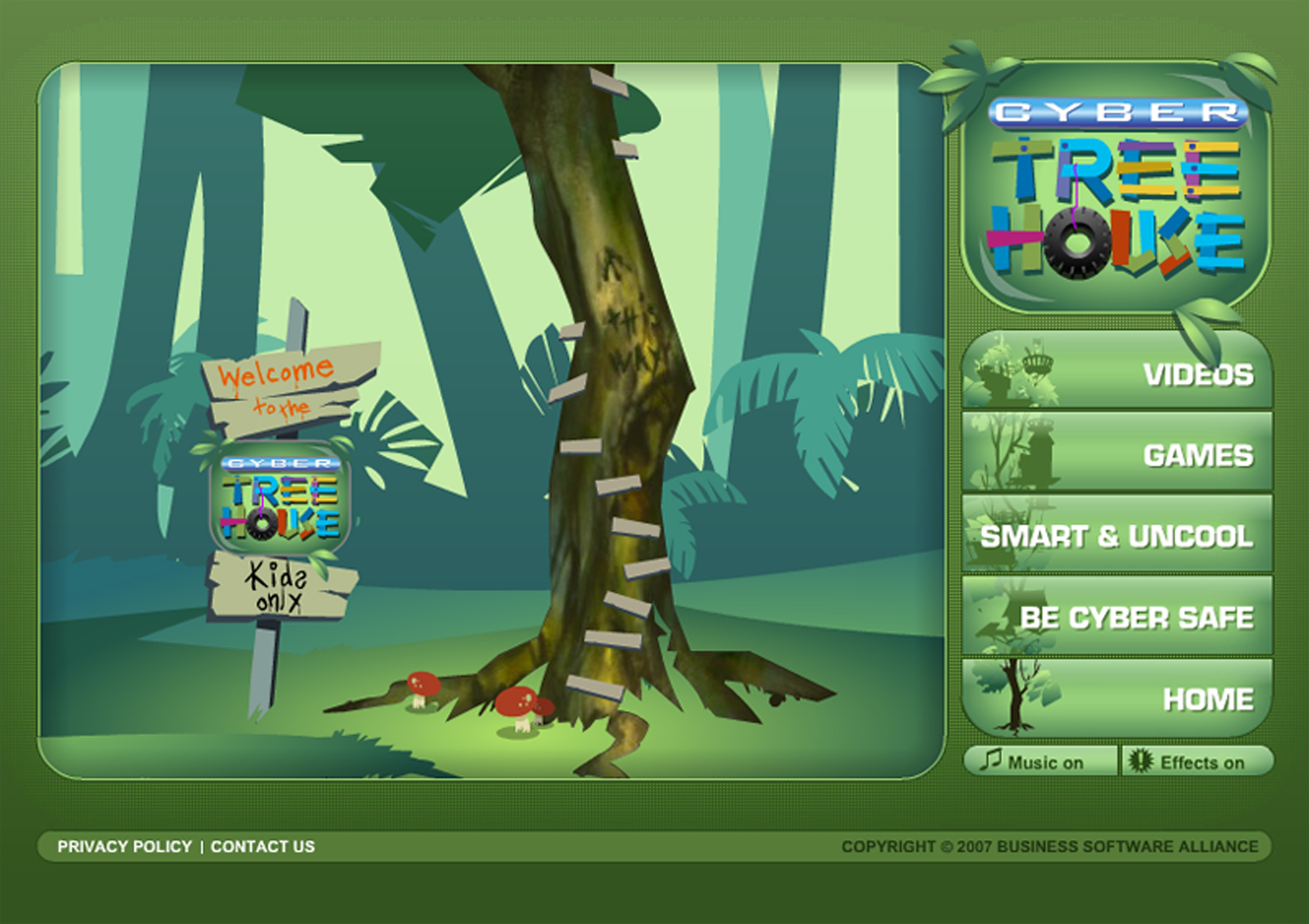 BSA Cyber Tree House image