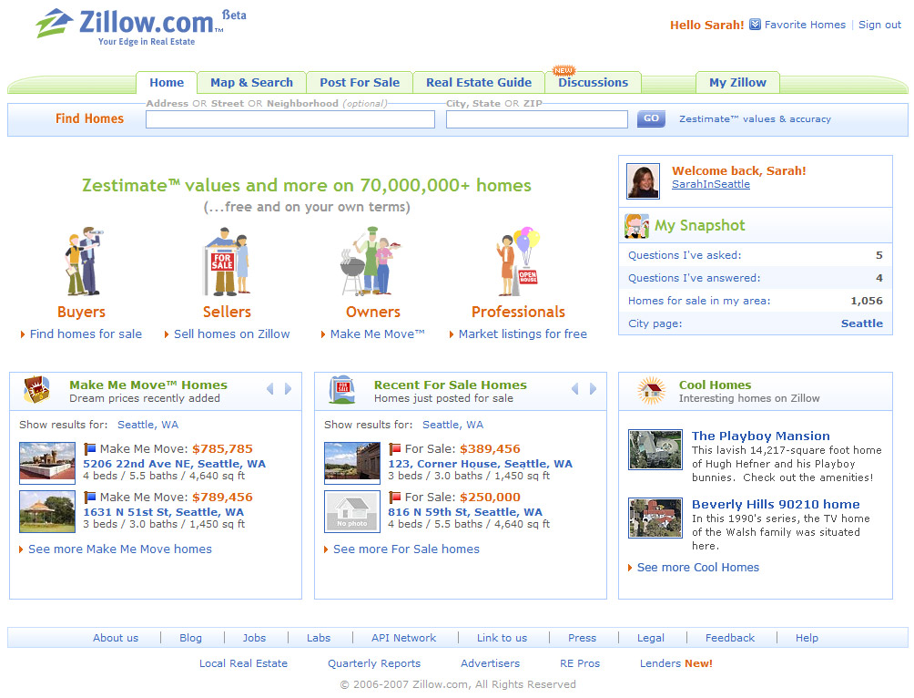Zillow.com: Your Edge in Real Estate image
