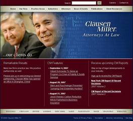 Clausen Miller PC image