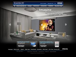 Ensemble HD Home Cinema System by Epson image