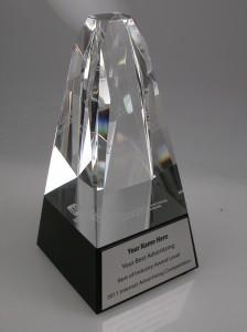 IAC Award Crystal Statue