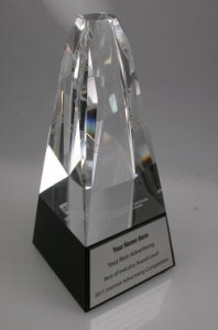 IAC Award Crystal Trophy
