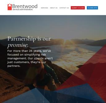Brentwood Services Website image