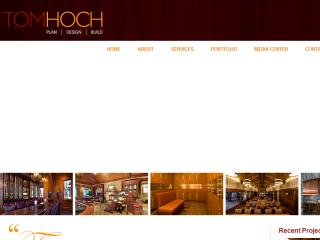 Tom Hoch Design Web site image