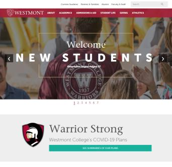 Westmont College Website