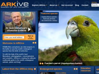 ARKive: Promoting the Conservation of the World's Threatened Species, Through the Power of Wildlife Imagery image