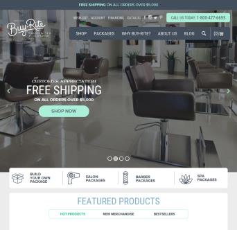 Buy-Rite Beauty Redesign image