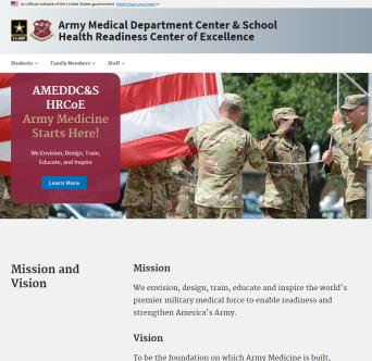 Army Medical Department Center & School HRCoE image