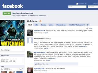 The Watchmen Experience on Facebook image