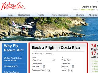 Nature Air - Eco Friendly Costa Rica Airline image