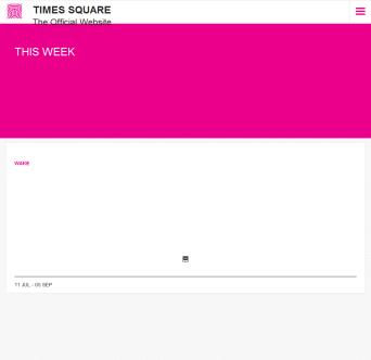 Times Square - The Official Website