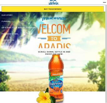 Tradewinds Website image
