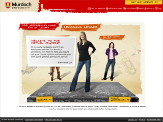 Murdoch University Switching Campaign image