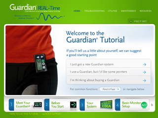 Guardian REAL-Time Glucose Monitor Tutorial image
