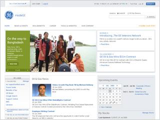 GE intranet image