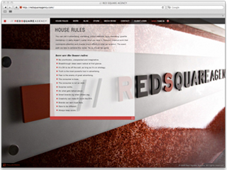 Red Square Agency Website image