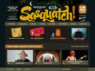 Sasquatch! Music Festival 2011 image