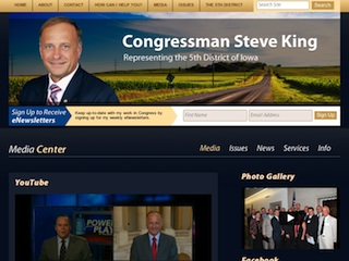 The Online Office of Congressman Steve King (IA-05) image
