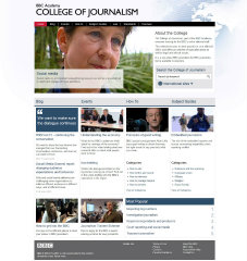 BBC College of Journalism image