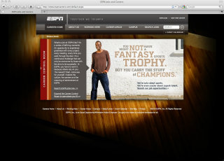 ESPN Career Site image