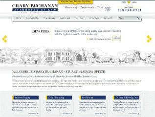 Crary Buchanan Website image
