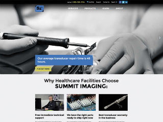 Summit Imaging Website image