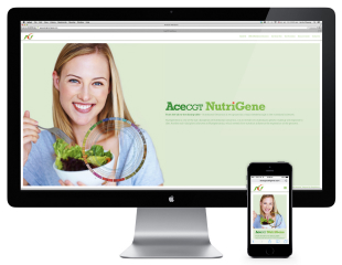 AceCGT NutriGene Website image