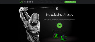 Arccos Golf Website  image