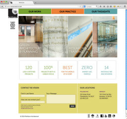 Re:Vision Architecture Website image