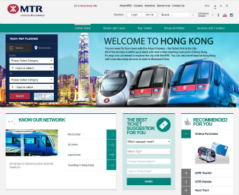 MTR Website image