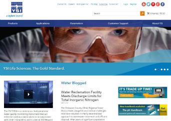 YSI Website image