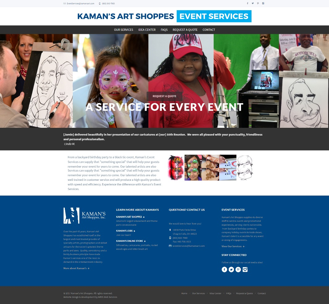 Kaman's Art Shoppes - Event Services image