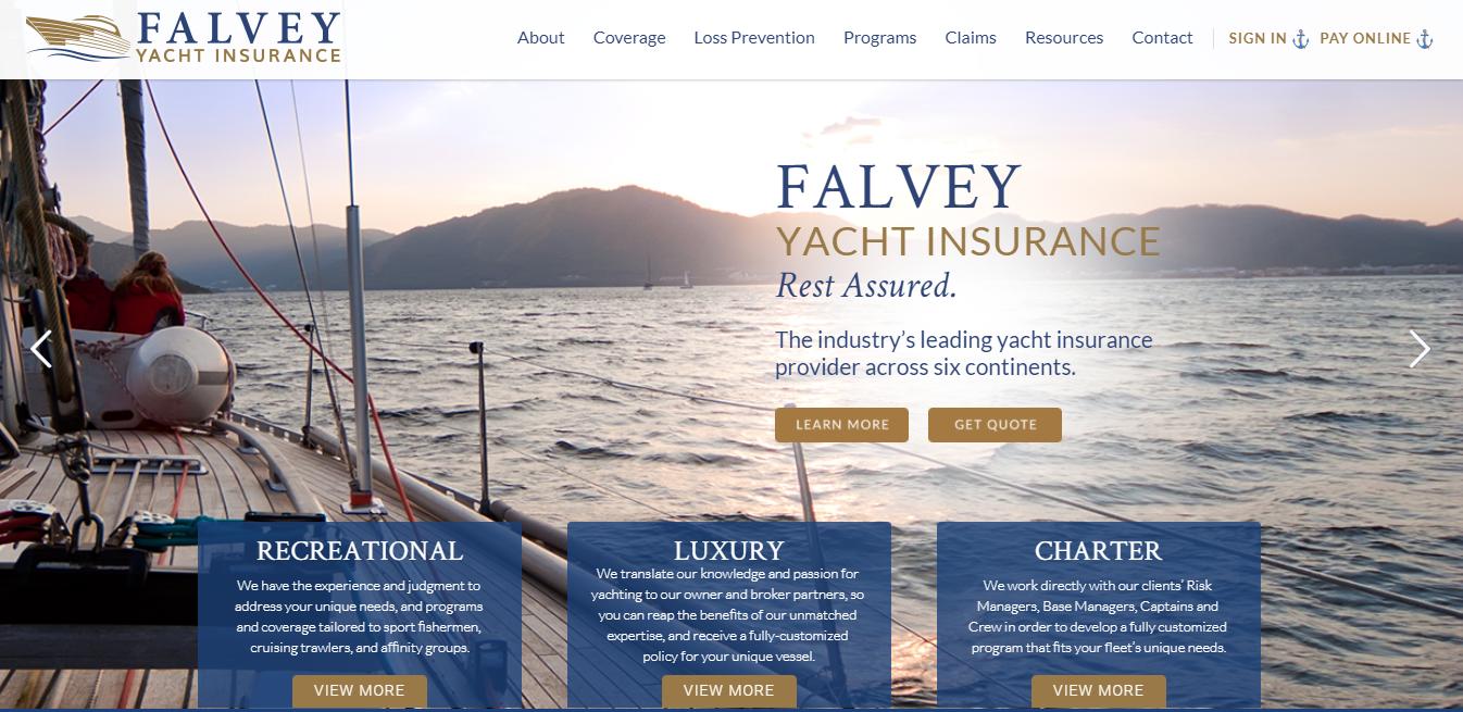 Falvey Yacht Insurance image