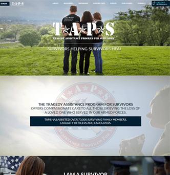 Website Development for Tragedy Assistance Program For Survivors image