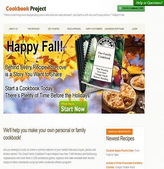 Familycookbookproject.com