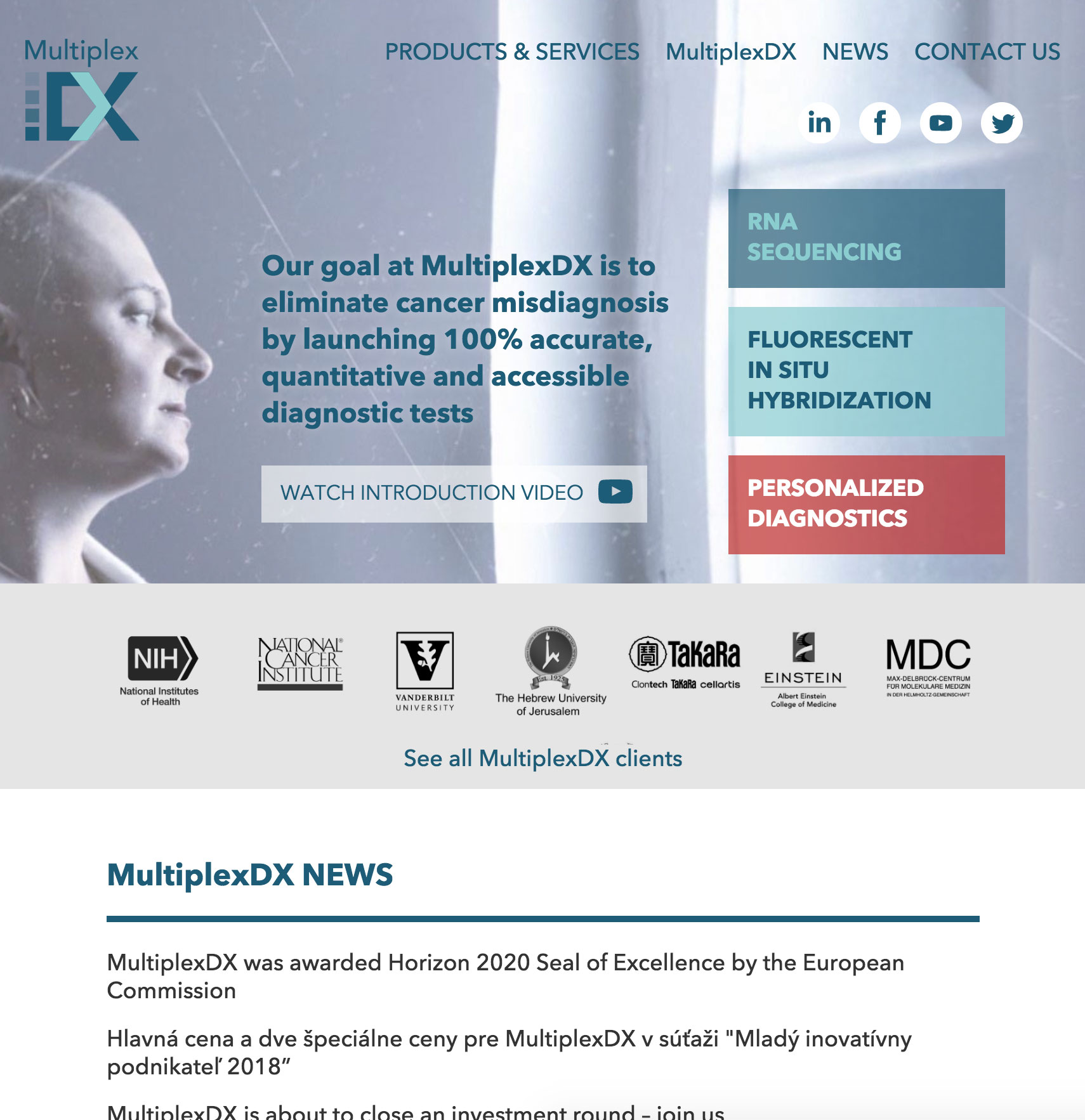MultiplexDX - Personalized Cancer Diagnostics image