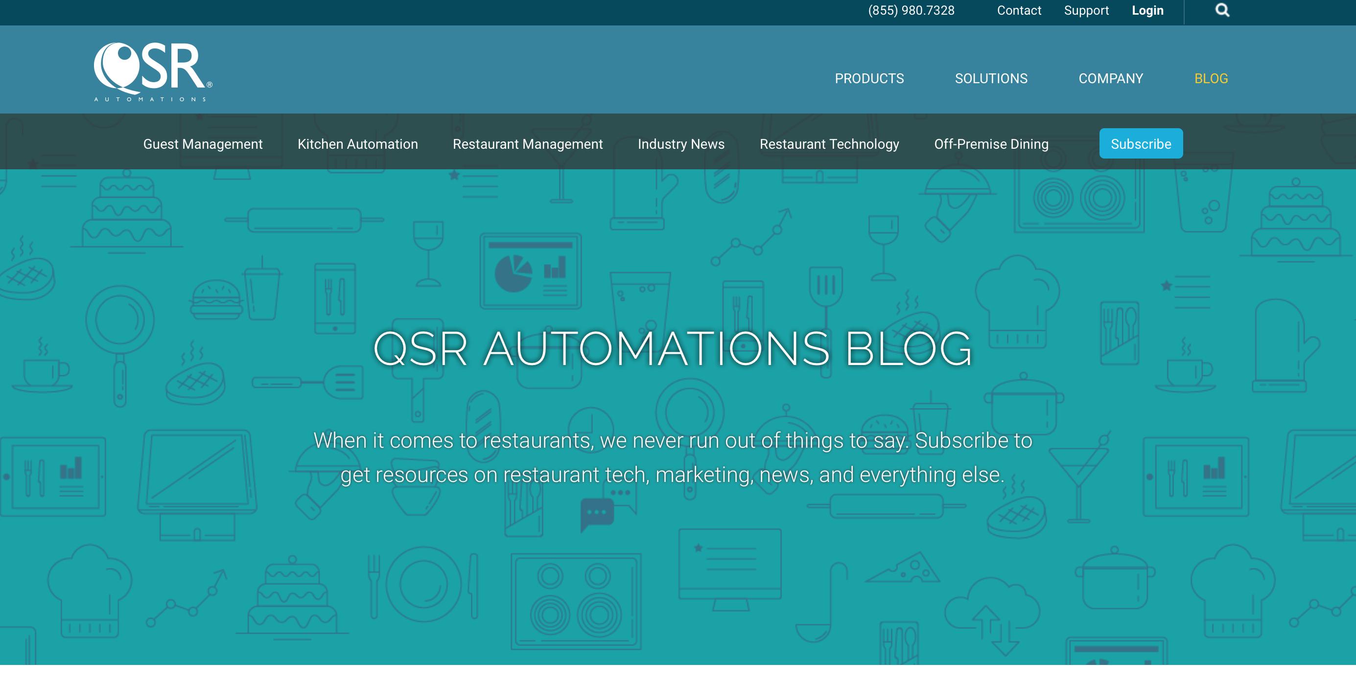 QSR Automations Blog  image