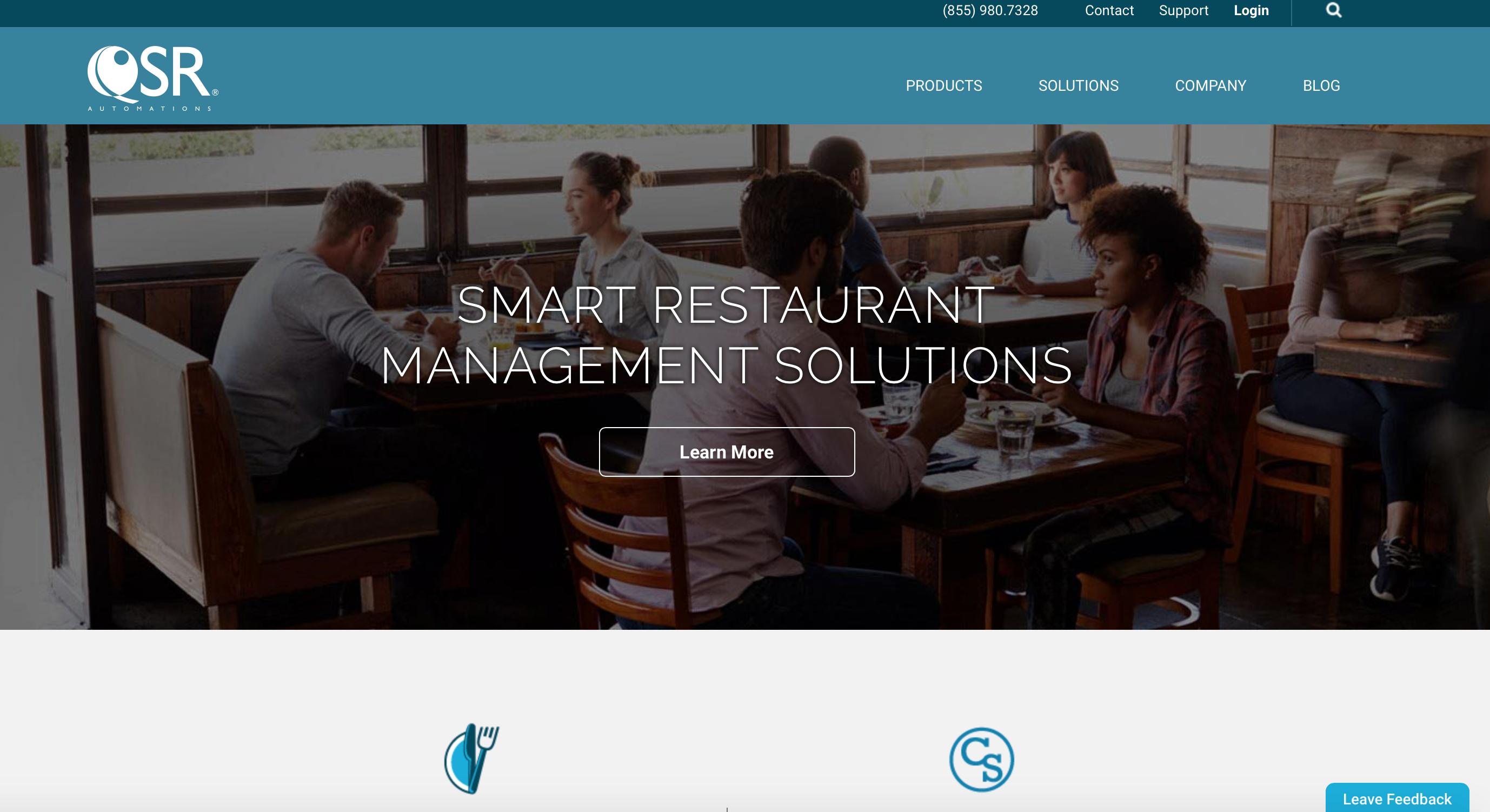 QSR Automations Website  image