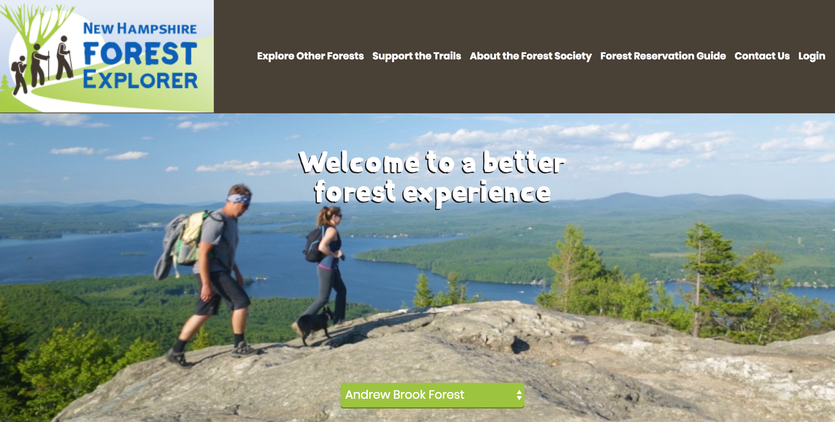 Forest Explorer App from the Society for the Protection of New Hampshire Forests image