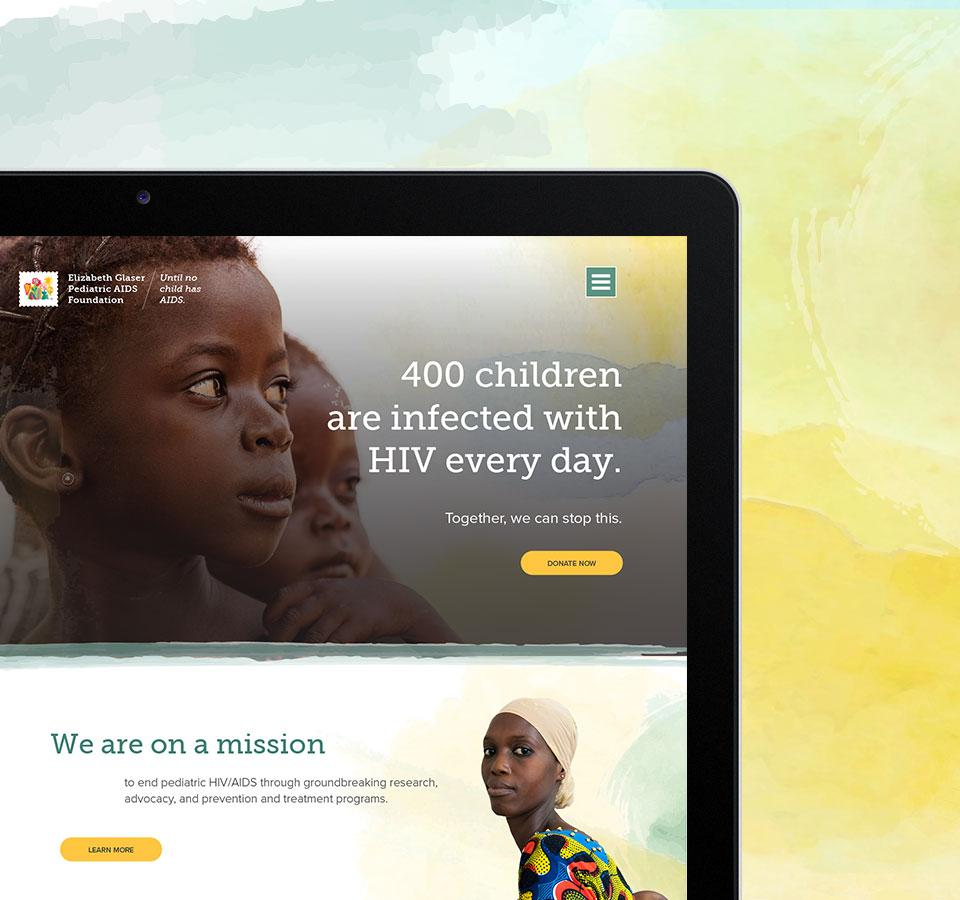 Elizabeth Glaser Pediatric AIDS Foundation: On a mission to end pediatric HIV/AIDS image