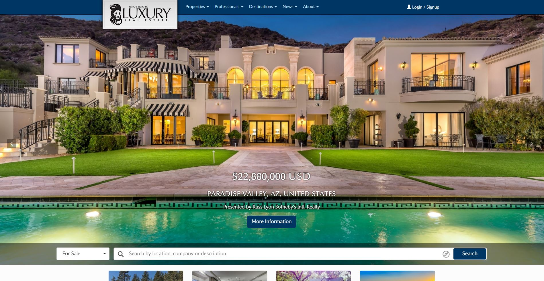 Who's Who in Luxury Real Estate image