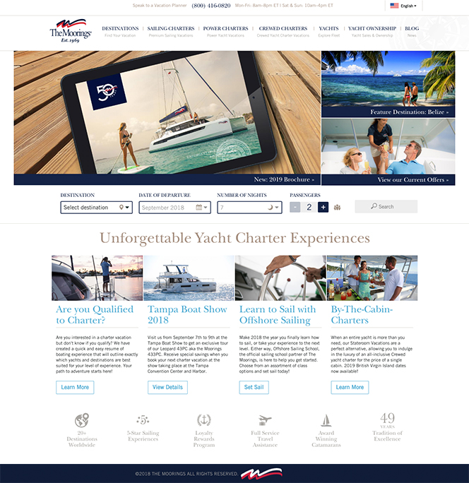 The Moorings Yacht Charter image