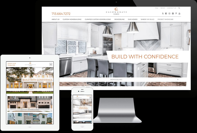 Cason Graye Homes Website image