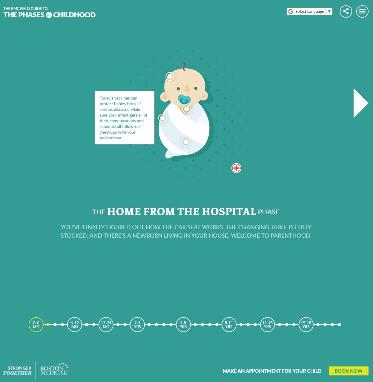 Boston Medical Center:  Pediatric Field Guide Campaign image