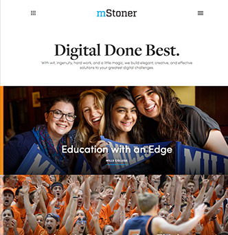 mStoner, Inc. Website Redesign image