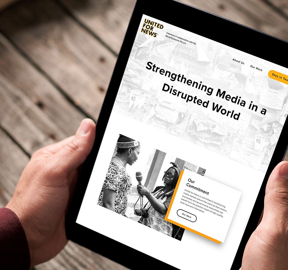United for News: Strengthening Media in a Disrupted World image