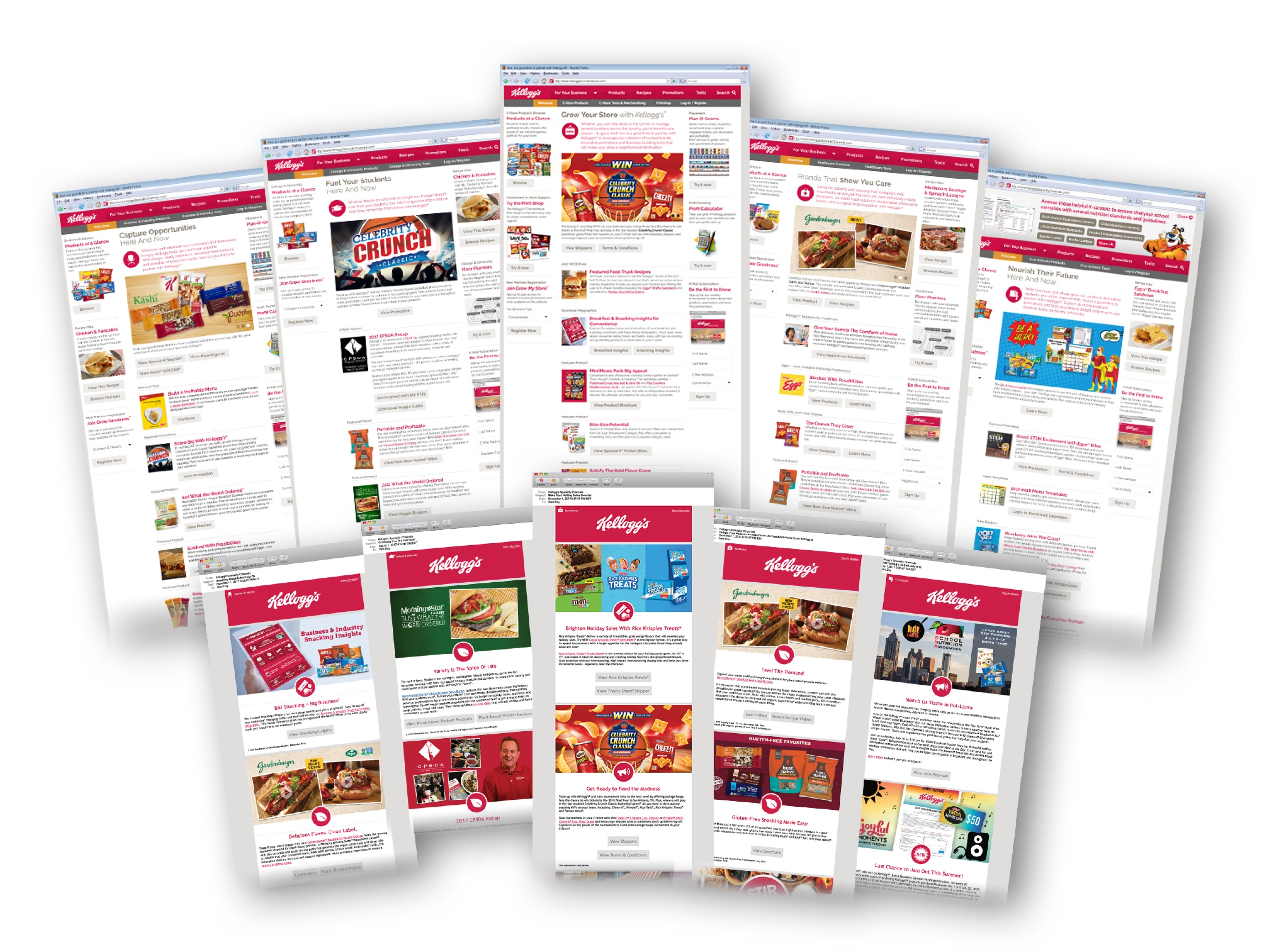 Kellogg's Specialty Channels K-Mail