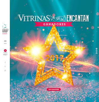 Concurso Vitrinas y Fachadas de Navidad de Transbank