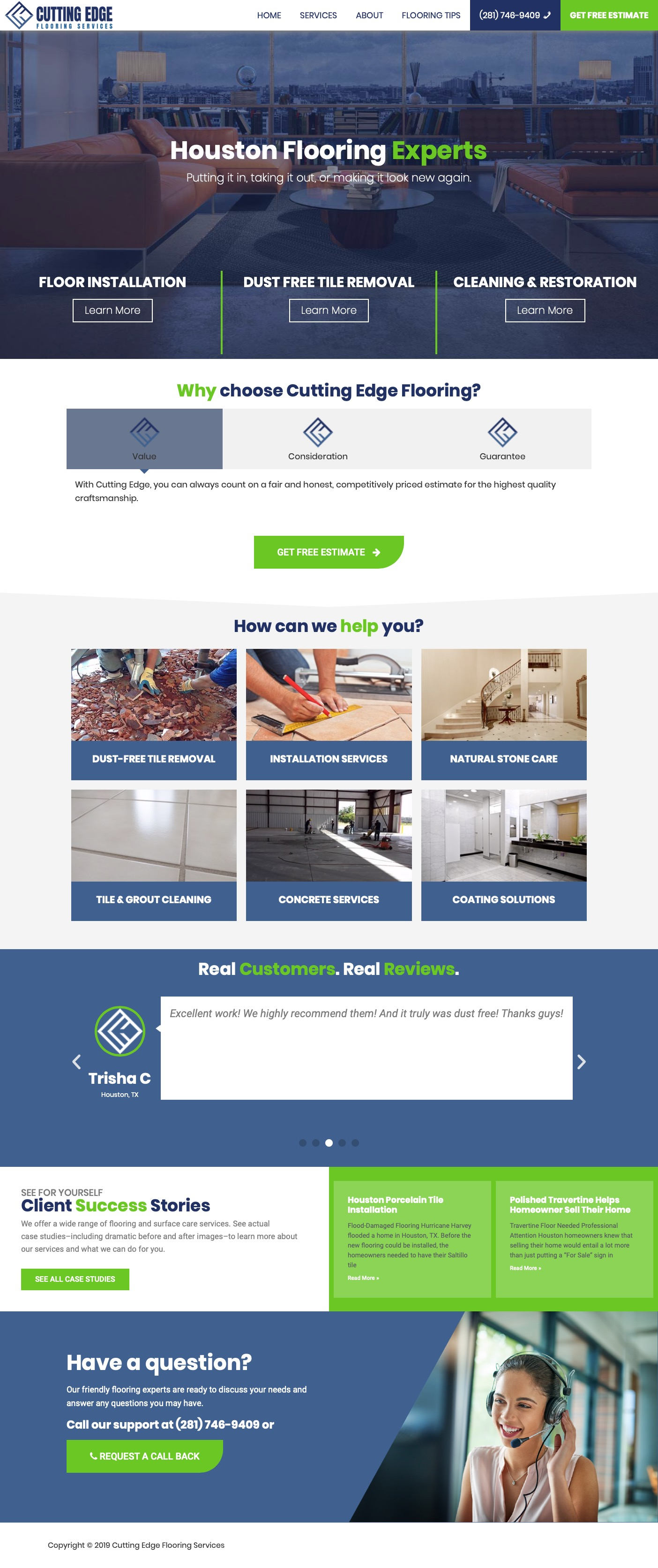 Cutting Edge Flooring Services image