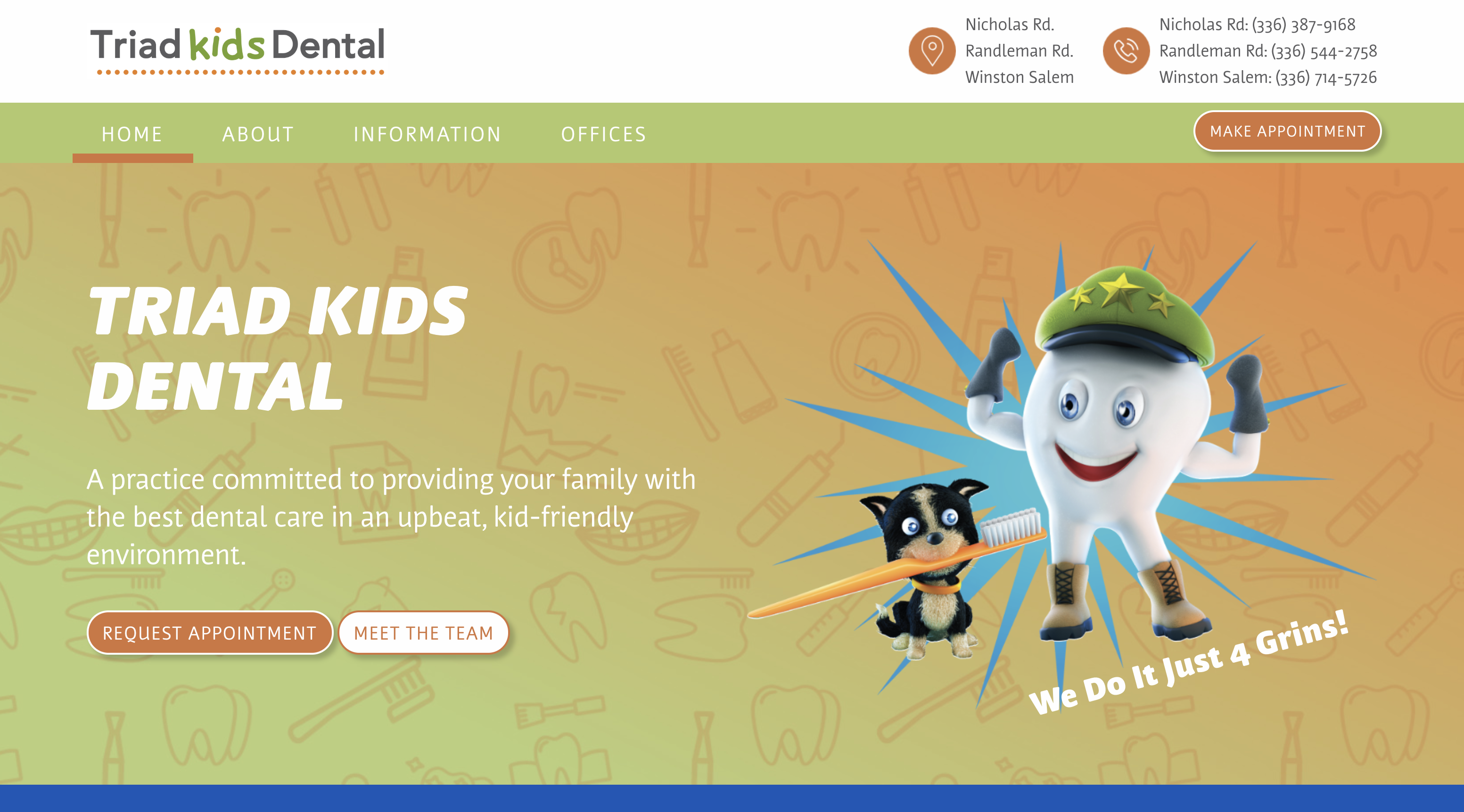 Custom Website Platform for Dental Support Organization image